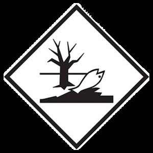Großzettel Umweltgefährdende Stoffe