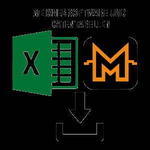 Software und Datentabellen